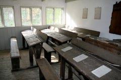 Oude school stock foto