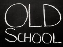 Oude school Stock Fotografie
