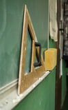 Oude School Stock Afbeelding