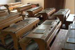 Oude school II Stock Foto's