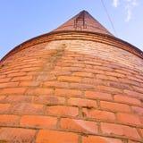 Oude schoorsteen in Norrkoping Royalty-vrije Stock Afbeelding