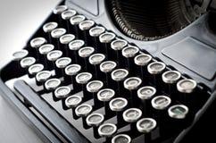 Oude schrijfmachine Stock Afbeeldingen
