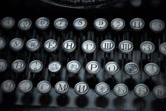 Oude schrijfmachine Royalty-vrije Stock Afbeeldingen