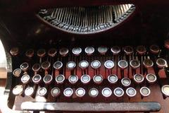 Oude Schrijfmachine, de USSR Royalty-vrije Stock Afbeeldingen