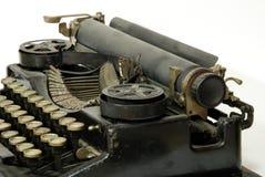 Oude schrijfmachine, detail stock foto's