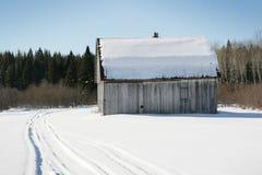 Oude schuur Stock Foto