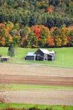 Oude schuur in Vermont royalty-vrije stock fotografie