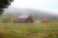 Oude schuur in Vermont royalty-vrije stock afbeeldingen