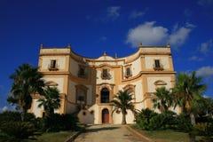 Oude Siciliaanse villa Stock Foto