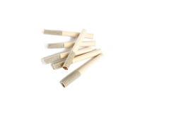Oude sigaretten Royalty-vrije Stock Fotografie