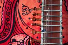 Oude sitar royalty-vrije stock afbeeldingen