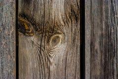 Oude sjofele houten raad Royalty-vrije Stock Afbeeldingen