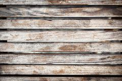 Oude sjofele houten raadsachtergrond stock afbeelding