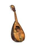 Oude sjofele mandoline Royalty-vrije Stock Afbeelding