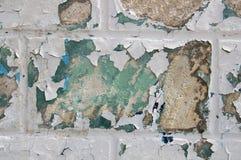 Oude sjofele muur, textuur Royalty-vrije Stock Afbeelding