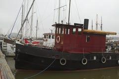 Oude sleepboot Royalty-vrije Stock Afbeeldingen