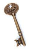 Oude sleutel. stock foto