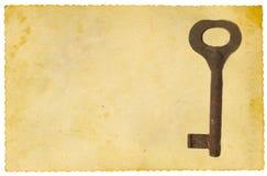 Oude sleutel Royalty-vrije Stock Afbeelding