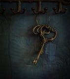 Oude sleutels Stock Afbeeldingen