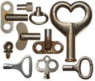 Oude sleutels Royalty-vrije Stock Fotografie