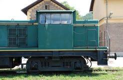 Oude Sloveense Trein Royalty-vrije Stock Afbeelding