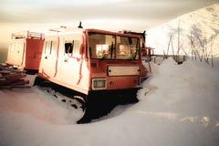 Oude sneeuwploeg Royalty-vrije Stock Foto