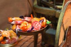 Oude snoepwinkel stock fotografie