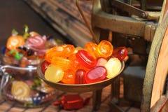 Oude snoepwinkel royalty-vrije stock fotografie