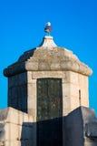 Oude sorozhevy toren Stock Afbeeldingen