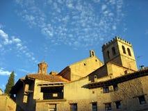Oude Spaanse kerk Royalty-vrije Stock Afbeeldingen