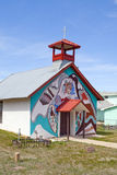 Oude Spaanse Kerk, Montezuma, New Mexico Royalty-vrije Stock Afbeelding