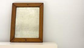 Oude spiegel royalty-vrije stock fotografie