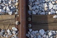 Oude spoormanier Stock Afbeeldingen