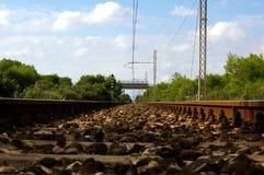 Oude spoorweg Stock Afbeeldingen