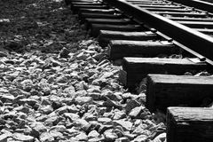 Oude spoorweg Royalty-vrije Stock Afbeelding