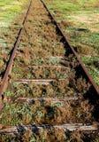 Oude spoorweg Royalty-vrije Stock Fotografie