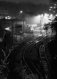 Oude spoorweg stock foto's