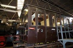 Oude spoorwegauto Royalty-vrije Stock Fotografie