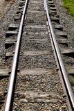 Oude spoorwegsporen Stock Afbeelding