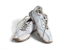 Oude sportschoenen Stock Afbeeldingen
