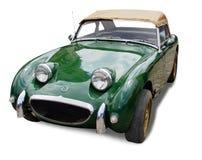 Oude sportwagen Royalty-vrije Stock Foto's