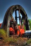 Oude Staalfabriek Stock Afbeelding