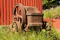 Oude staalpers Royalty-vrije Stock Afbeelding
