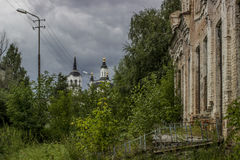 Oude Stad Royalty-vrije Stock Afbeeldingen