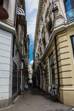 Oude Stad in Boekarest, Roemenië Stock Foto