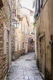 Oude Stad Budva Royalty-vrije Stock Foto's