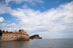 Oude Stad Budva, Montenegro royalty-vrije stock afbeeldingen