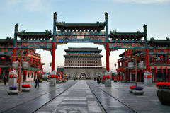 oude stad in China Stock Foto