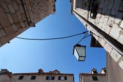 Oude Stad Dubrovnik Stock Afbeeldingen