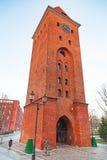 Oude stad in Elblag, Polen Stock Fotografie